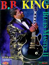 B.B. BING BLUES MASTER II TRANSCRIPTIONS DE COLGAN BRYAN AVEC 1 CD