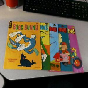 Bugs Bunny 134 191 194 195 196 Gold Key Comics Lot Run Set Collection bronze age