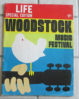 1969 LIFE MAGAZINE SPECIAL EDITION WOODSTOCK MUSIC FESTIVAL EXCELLENT CONDITION