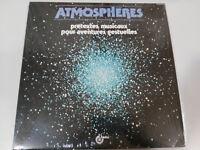 """Atmospheres Pretextes Musicaux Pour Aventures Gestuelles LP 12 """" vinyl Neu 2T"""