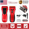 Men's Rechargeable Electric Shaver Razor Waterproof Wet & Dry Hair Beard Removal