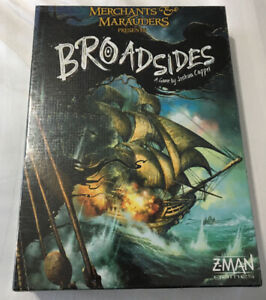"MERCHANTS AND MARAUDERS PRESENTS ""BROADSIDES""......Z-MAN GAMES"