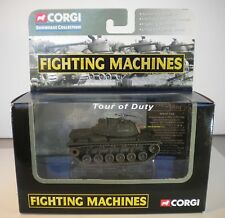 CORGI 2003 - SHOWCASE COLL. - FIGHTING MACHINES TOUR OF DUTY M48-A3 TANK VIETNAM
