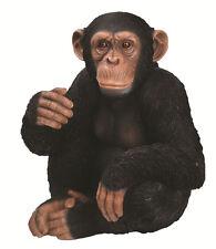 Vivid Arts - REAL LIFE ZOO ANIMALS - Sitting Chimpanzee