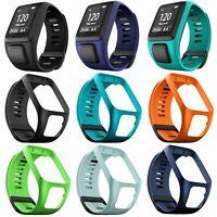 Silicone Bande Bracelet de montres Pour TomTom Runner 2/3/Spark 3/Spark Cardio