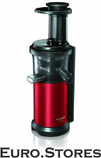 Panasonic MJ-L500RXE Slow Juicer 150W Black/Red Stainless Steel BPA-Free Genuine