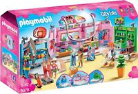 Playmobil Shopping Plaza Building Set Kids Play 9078 NEW SAME DAY SHIP