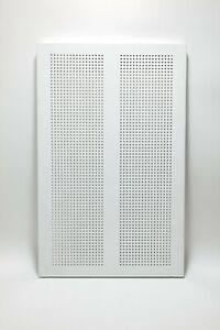 "2 x IKEA ALGOT Metal Shelf, White, 23 5/8 x 15"" 16778 (802.185.47) Discontinued"