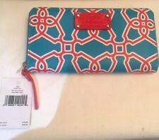 Kate Spade Zip Around Wallet/Clutch NWT WLRU1457