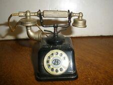 Vintage Metal Pencil Sharpener OLD FASHIONED TELEPHONE