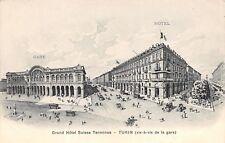 5420) TORINO, TURIN, GRAND HOTEL SUISSE TERMINUS.