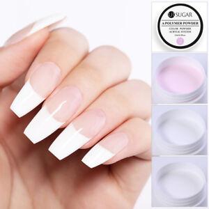 UR SUGAR 15ml Acrylic Powder Pink White Clear Nail Decor French  Tool