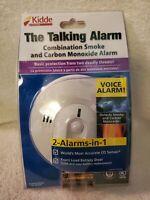 Kidde The Talking Alarm Combination Smoke And Carbon Monoxide Alarm New