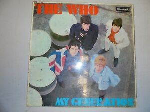 THE WHO My Generation UK Brunswick 1B/1B ORIGINAL VG+ Plays great!