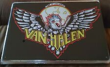 Van Halen Rock Band Poster Style Wall Sign Metal & New