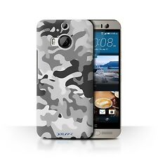 STUFF4 Back Case/Cover/Skin for HTC One M9+/Plus/Camouflage Army Navy