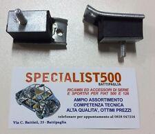 FIAT 500 F/L/R 126 COPPIA SUPPORTI CAMBIO  ANTERIORE