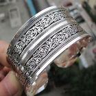 Vintage Armband Tibetsilber Silber Plattiert Schmuck Silber Armreif Geschenk Neu