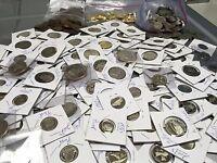 ESTATE LOT(6) GEM PROOF US COINS-DCAM-45 YEAR OLD-DOLLAR-SILVER+BONUS GOLD