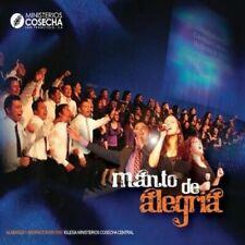 MINISTERIOS COSECHA - MANTO DE ALEGRIA NEW CD
