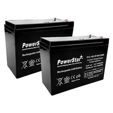 12V 10AH 2 Pack - HD SLA Battery replaces Electric Scooter Schwinn S180 / S500