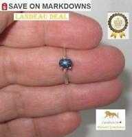 .82 ct 6 Ray Star Sapphire Silver Ring