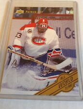 92-93 1992-93 UPPER DECK PATRICK ROY ALL WORLD TEAM W6 MONTREAL CANADIENS