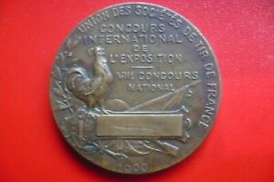 Médaille Jeux Olympiques/ Games / Exposition Universelle 1900 / + TICKET ENTREE