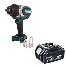 MAKITA 18V LXT DTW1002 DTW1002Z DTW1002RFE IMPACT WRENCH AND BL1840 BATTERY