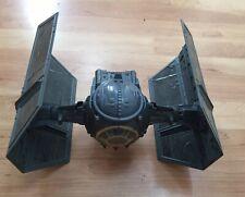Vintage Star Wars Darth Vader Tie Fighter, Nice Stickers, Cockpit, Lights Work