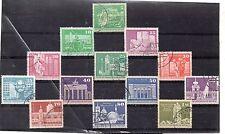 Alemania DDR Arquitectura monumentos Valores del año 1973-74 (DI-470)