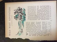m17c ephemera undated short story wild west adventure martin downes