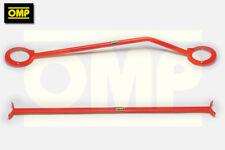 OMP FRONT & REAR STRUT BRACE FORD FIESTA MK4 ZETEC