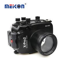 Underwater Housing Waterproof Diving Case For Fujifilm X-PRO2 16-50mm 35mm Lens
