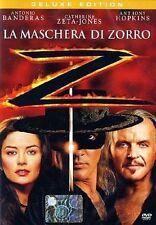 DvD LA MASCHERA DI ZORRO (1998)**Edition Deluxe 1 ora di Contenuti Extra** NUOVO