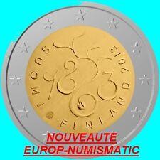 """FINLANDE 2013 2 EURO COMMEMORATIVE """" PARLEMENT """"   PREVENTE   PRIX TOP :  3,45 €"""