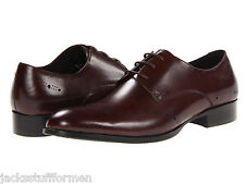 Kenneth Cole New York Men's Suit Yourself US 12 M Brown Leather Dress Shoes $158