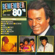 REMEMBER YOUR 80's - 1984 CD 18TR POP / JACKSONS / WHAM / NITS / MICHAEL JACKSON
