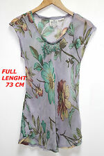 THE MASAI CLOTHING CO  WOMAN LADIES TOP SHIRT SIZE M SLEEVELESS FLORAL