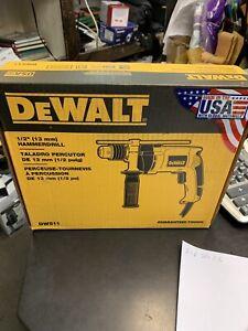 "DeWALT (DW511) - 1/2"" (13mm) Corded Hammerdrill.....FREE S&H!!"