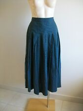 LOVELY 100% COTTON SKIRT BY LAURA ASHLEY, SIZE 12. VG CONDITION. MADE IN AUST