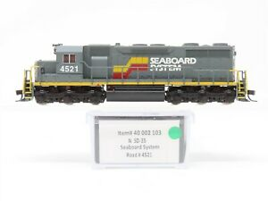 N Atlas 40002103 SBD Seaboard System EMD SD35 Diesel Locomotive #4521