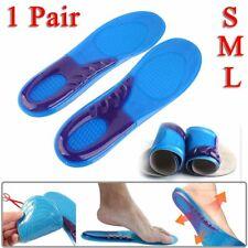 Semelles Intérieures Pieds Coussin En Gel Confort Chaussures Sport Orthopédique