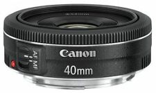 Canon EF Fixed/Prime Auto Focus DSLR Camera Lenses