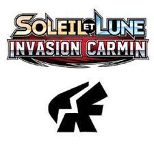 Cartes Pokemon set Soleil&Lune Invasion Carmin /111 2017 100% Français AU CHOIX