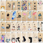 New Animal Pattern Rubber Soft TPU Clear Etui Housse Coque For iPhone 6s 7 Plus