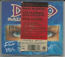 """DORO PESCH """"Bad Blood"""" Limited 3-track Picture CD - signiert/signed - Sticker"""