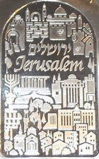 Israel 5oz Jerusalem .999 Pure Silver Holy Land Mint with Id Serial Number#11687