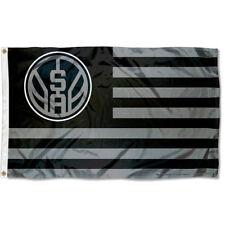 San Antonio Spurs Patriotic Americana Logo Flag