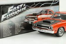 1970 pymouth Road Runner Fast and Furious & 7 2015 1:18 GMP NUOVO